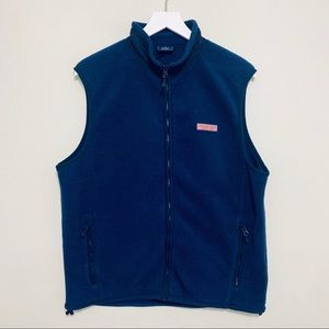 Vineyard Vines | Navy Fleece Whale Vest